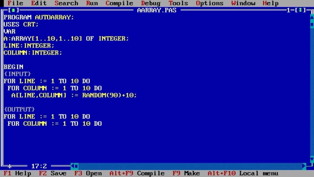 Turbo Pascal 7.0 with DOSBox – Pascal Cho Win7,Win8 - Jundat95