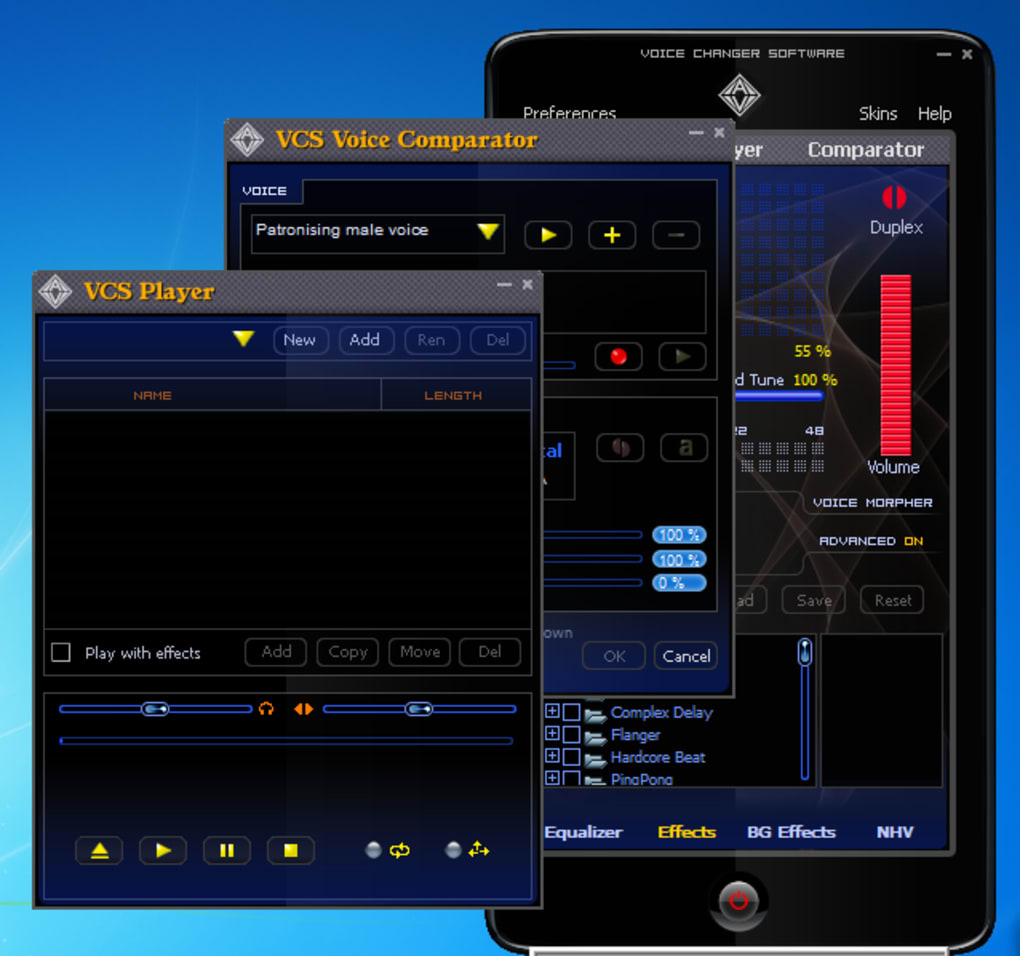 Voice Changer Software - Tải về