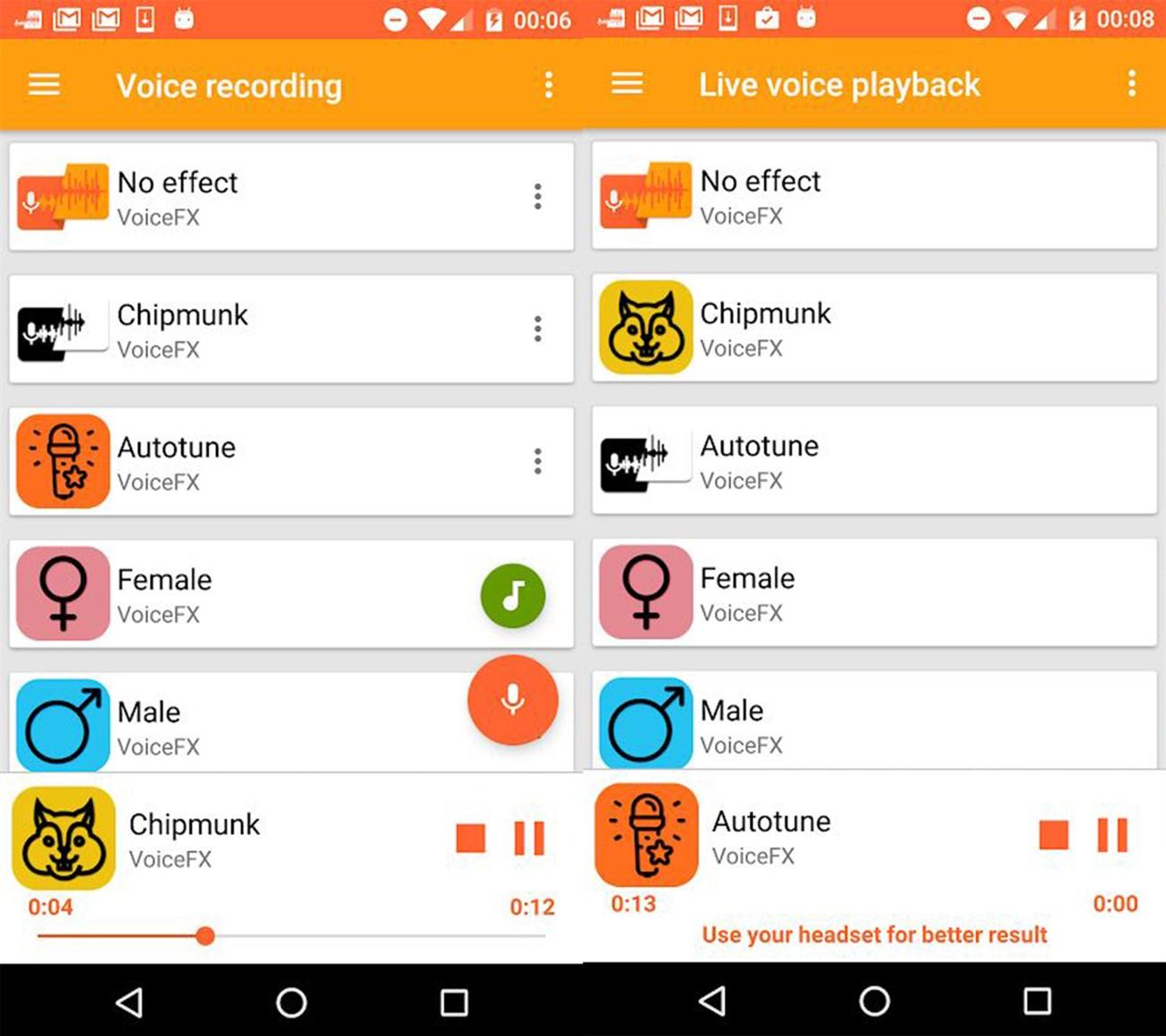 Top 6 ứng dụng thay đổi giọng nói cực hài hước trên điện thoại